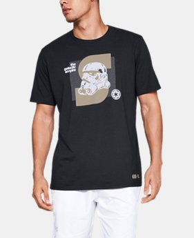 Men's UA Star Wars Galactic Empire Short Sleeve Shirt  1  Color Available $23.99