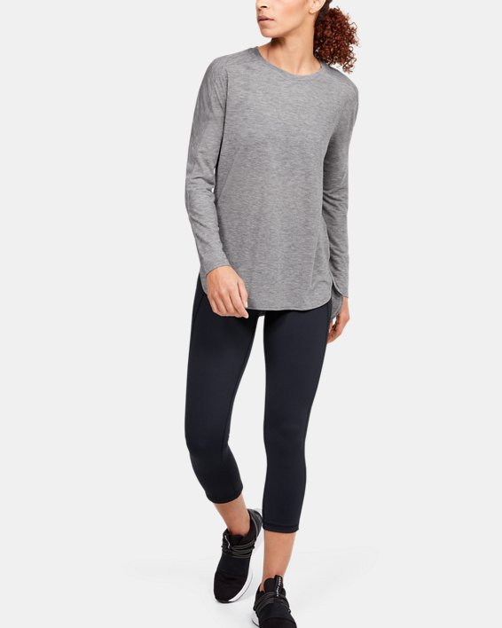 Women's UA Breathe Long Sleeve, Black, pdpMainDesktop image number 1