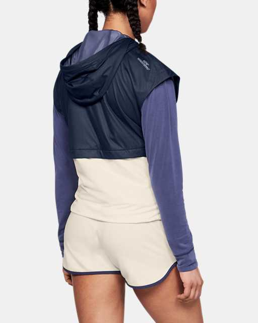 Women's UA Unstoppable GORE® WINDSTOPPER® Hooded Vest