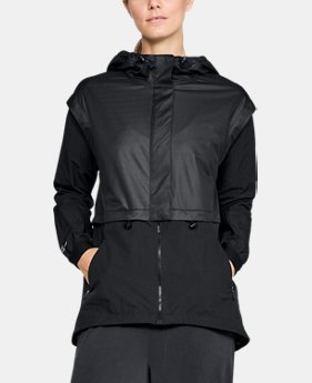 Women's UA Unstoppable GORE® WINDSTOPPER® Rain Cape  2  Colors Available $112.5