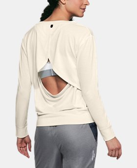 Women's UA Unstoppable Open Back Long Sleeve  3  Colors Available $37.5