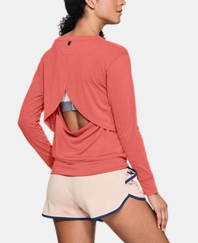 Women's UA Unstoppable Open Back Long Sleeve  2  Colors Available $45