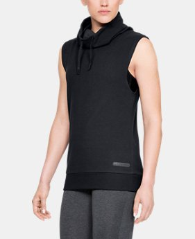 Women's UA Unstoppable Sleeveless Funnel  3  Colors Available $52.5