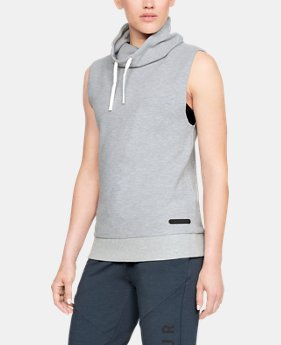 Women's UA Unstoppable Sleeveless Funnel  1  Color Available $52.5