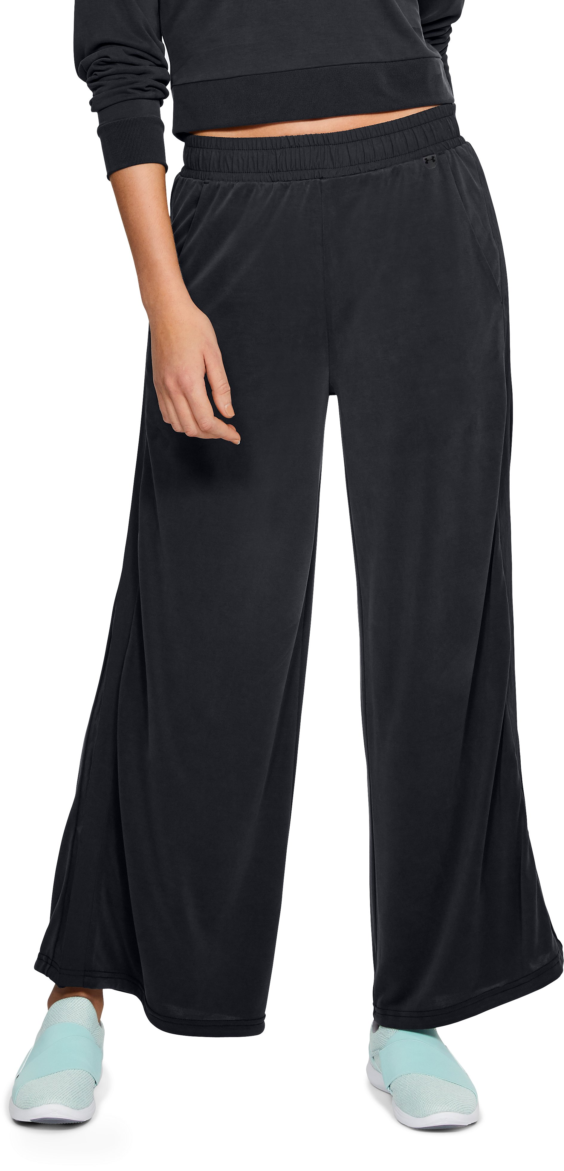 Women's UA Unstoppable Volume Pants, Black