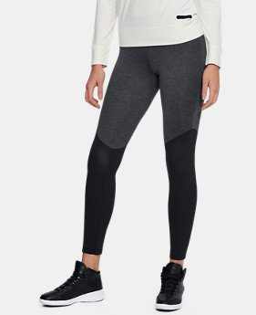 Women's UA Unstoppable Ribbed Leggings  1  Color Available $36 to $45