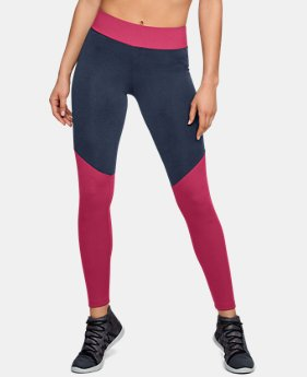 New to Outlet Women's UA Unstoppable Ribbed Leggings  1  Color Available $45.99