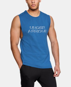 Men's UA Unstoppable Muscle Tank  1  Color Available $35