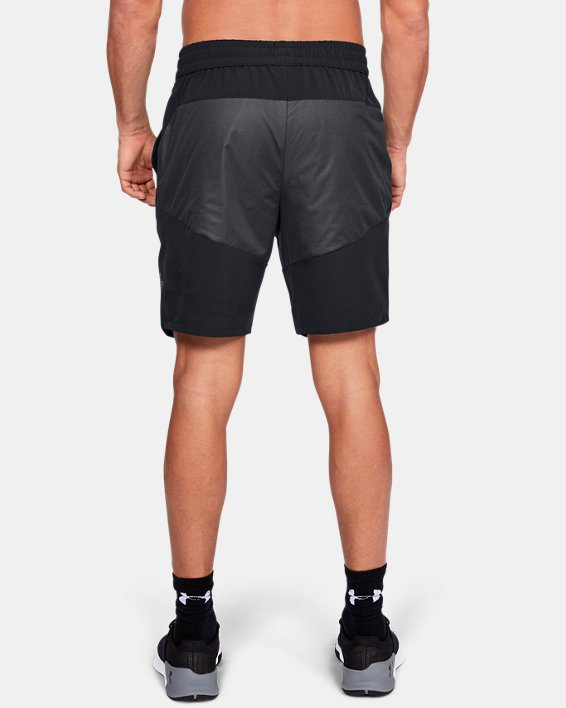 Men's UA Unstoppable GORE® WINDSTOPPER® Shorts, Black, pdpMainDesktop image number 2