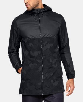 New Arrival Men's UA Unstoppable GORE® WINDSTOPPER® Wind Jacket  1  Color Available $150