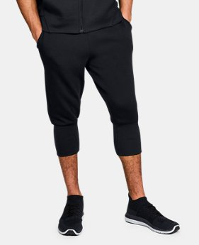 New Arrival  Men's UA Unstoppable Knit ¾ Joggers  1  Color Available $80