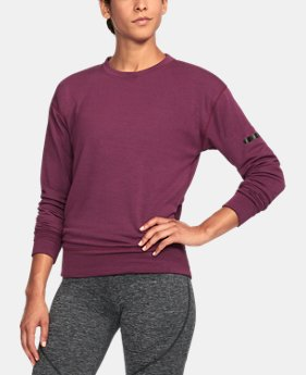 Women's UA Unstoppable Knit Crew  2  Colors Available $44.99