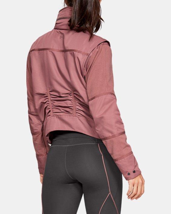 Women's UA Generation Jacket, Brown, pdpMainDesktop image number 2