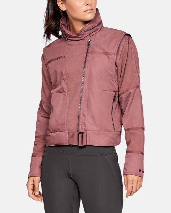 Women's UA Generation Jacket, Brown, pdpMainDesktop image number 0
