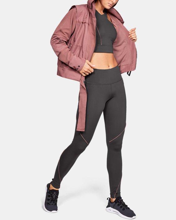 Women's UA Generation Jacket, Brown, pdpMainDesktop image number 7