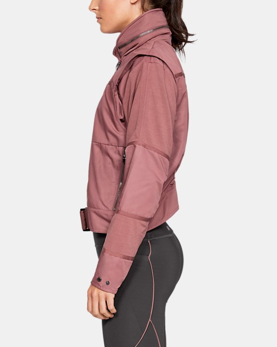 Women's UA Generation Jacket, Brown, pdpMainDesktop image number 3