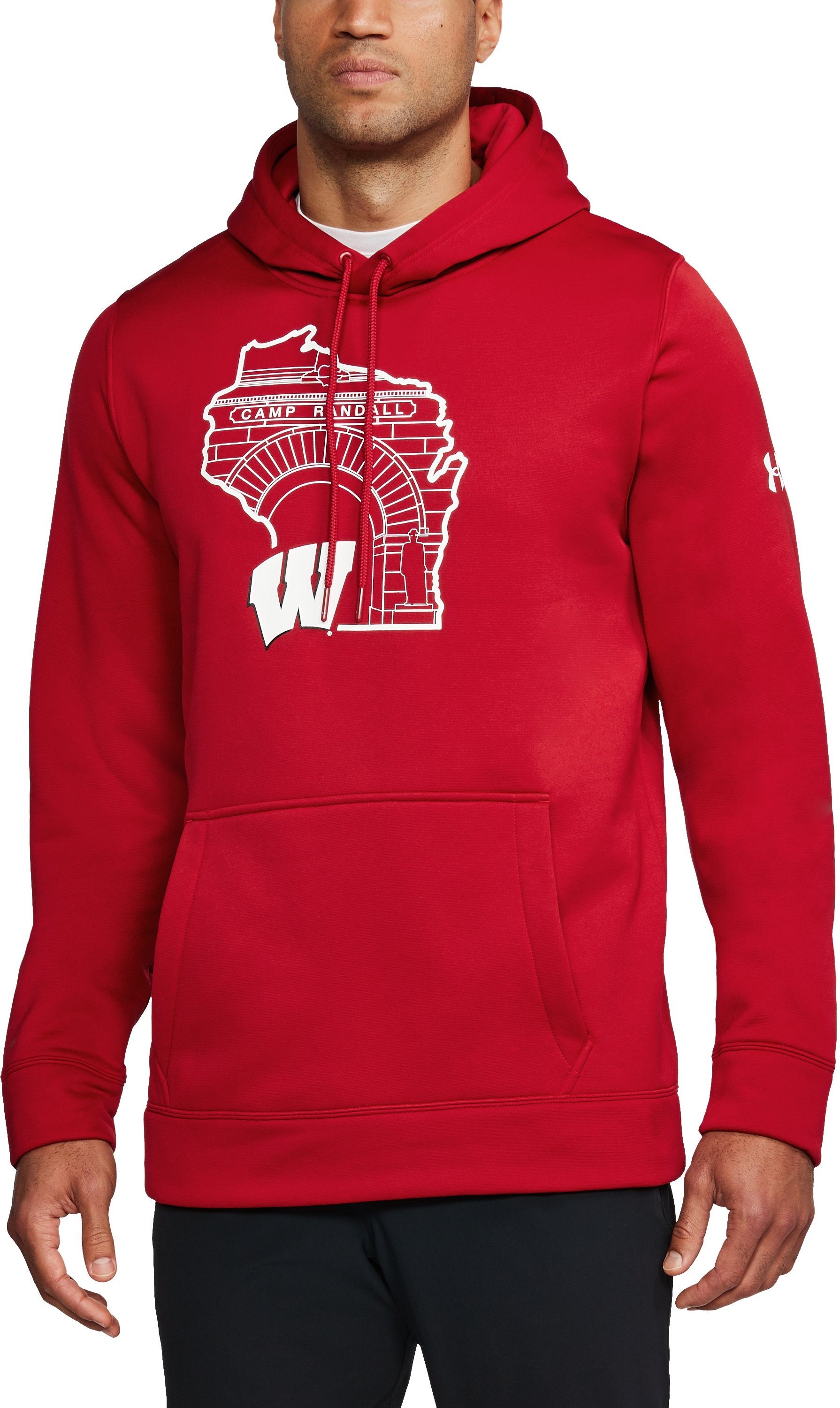 Men's Wisconsin Armour Fleece® Hoodie, Flawless