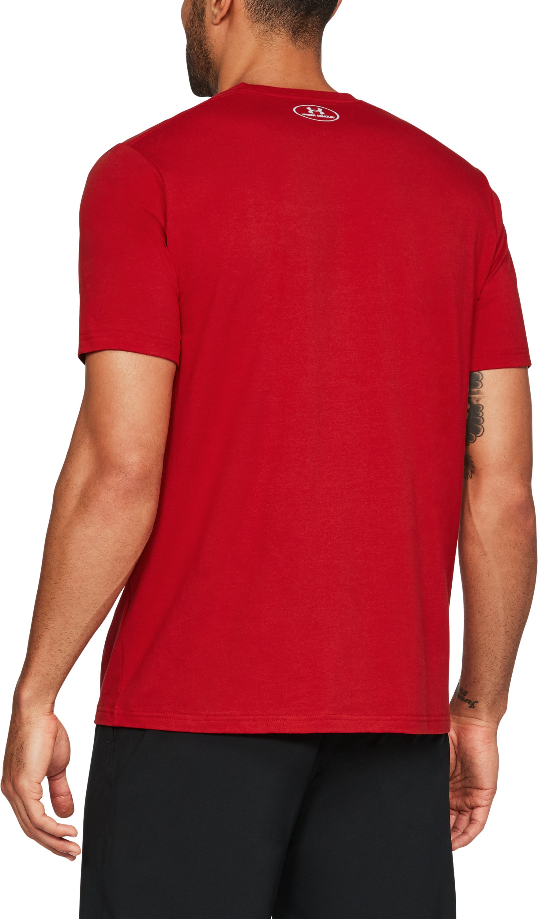 Men's Wisconsin CR 100 Charged Cotton® T-Shirt, Flawless,
