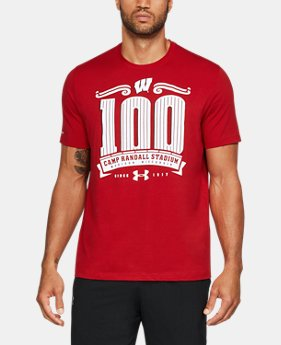 Men's Wisconsin CR 100 Charged Cotton® T-Shirt  1 Color $42.99