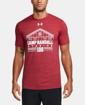 Men's Wisconsin Stadium Tri-Blend T-Shirt  1 Color $34.99