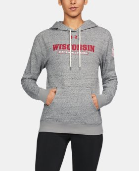 New Arrival Women's Wisconsin UA Terry Hoodie  1 Color $99.99