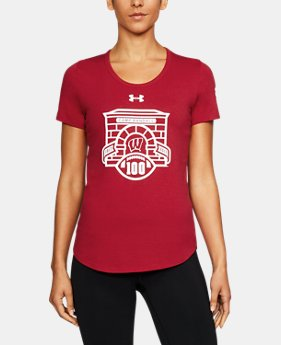 New Arrival Women's Wisconsin Charged Cotton® T-Shirt  1 Color $32.99