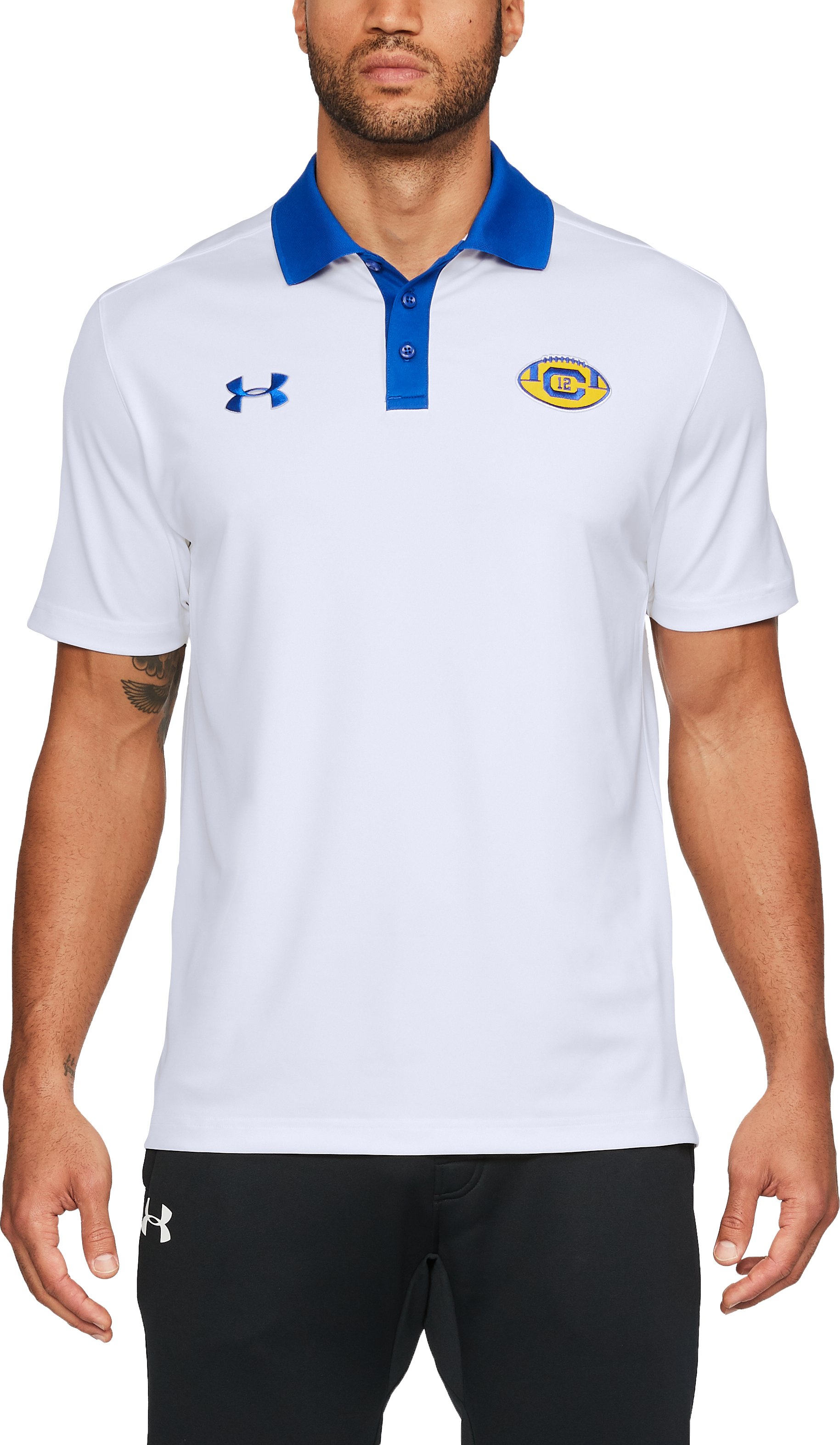 Men's Cal Bears Polo, White