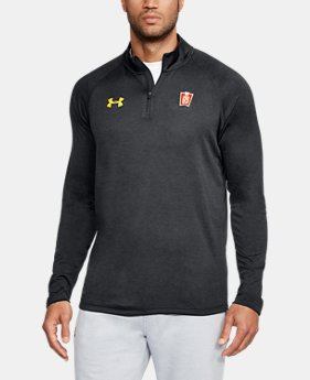 Men's Maryland UA Tech™ ¼ Zip Long Sleeve  1  Color Available $69.99