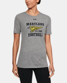 Women's Maryland UA Tri-Blend T-Shirt  1  Color Available $34.99