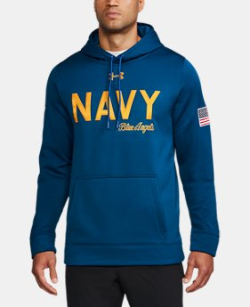 New Arrival Men's Naval Academy Armour® Fleece Hoodie  1 Color $99.99