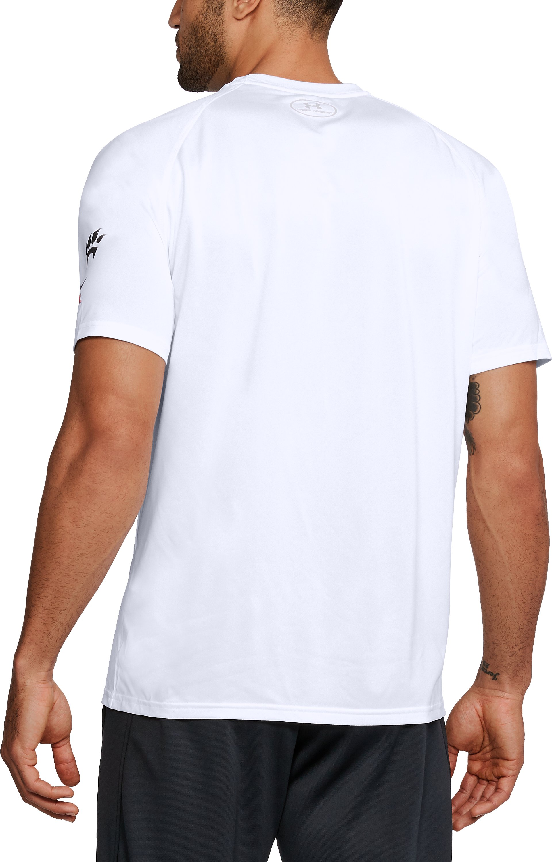 Men's Cincinnati UA Tech™ Troop Tech T-Shirt, White,