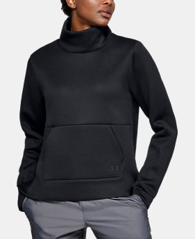 Women's UA Unstoppable /MOVE Mock Long Sleeve  1  Color Available $90