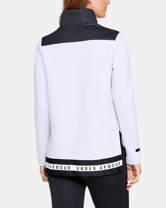 Women's UA Move Mock Long Sleeve, White, pdpMainDesktop image number 2