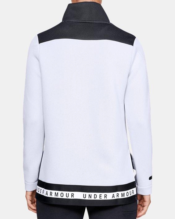 Women's UA Move Mock Long Sleeve, White, pdpMainDesktop image number 6