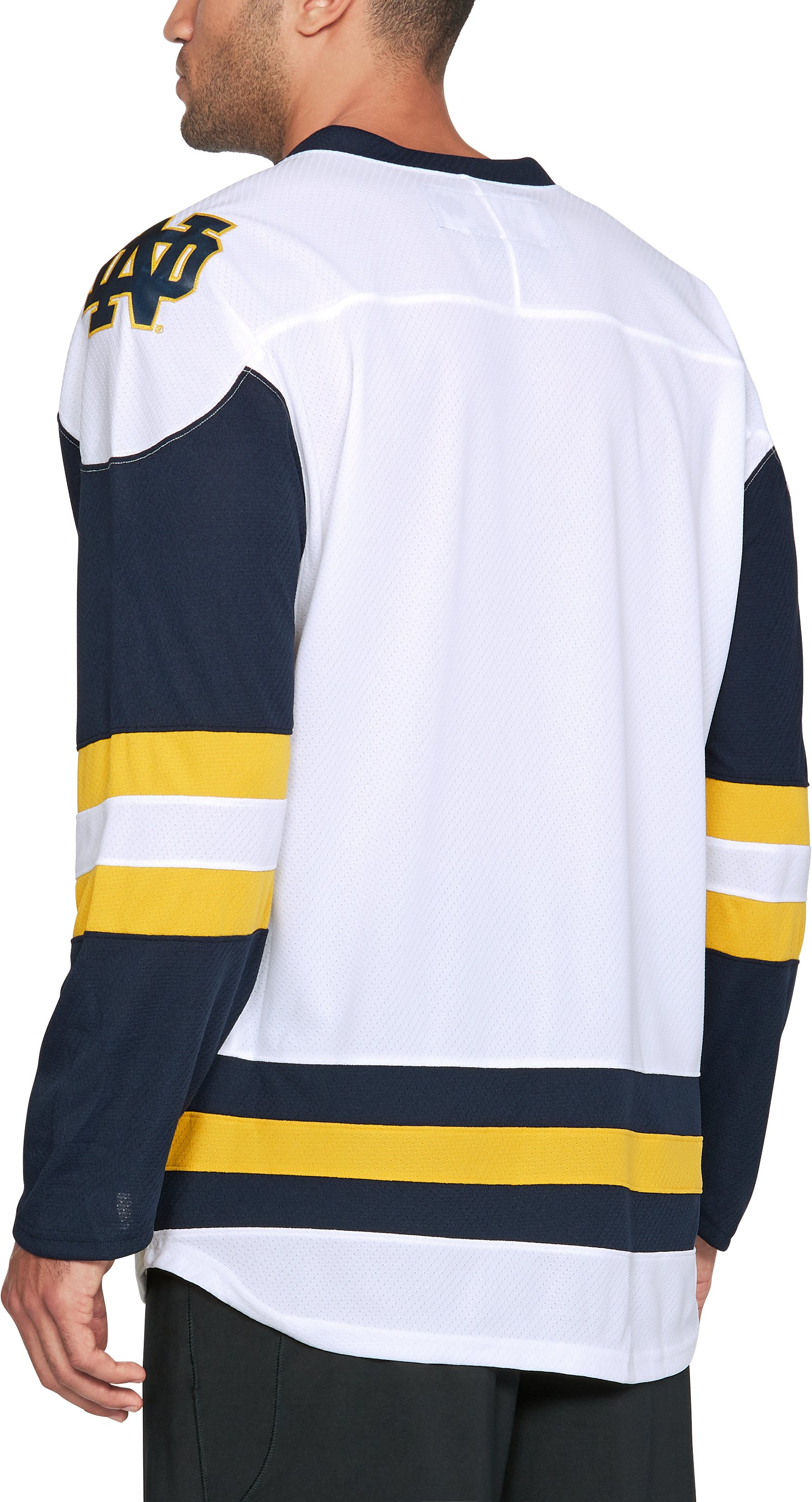 Men's Notre Dame Hockey Replica Jersey, White,