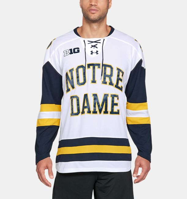 Men s Notre Dame Hockey Replica Jersey  93ce494c45c
