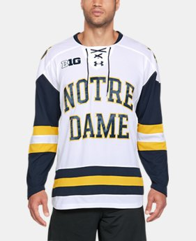 Men's Notre Dame Hockey Replica Jersey  1  Color $105