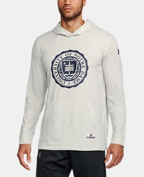 Men's Notre Dame UA Iconic Waffle Hoodie  1  Color Available $64.99