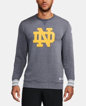 Men's Notre Dame UA Iconic Crew  1 Color $89.99
