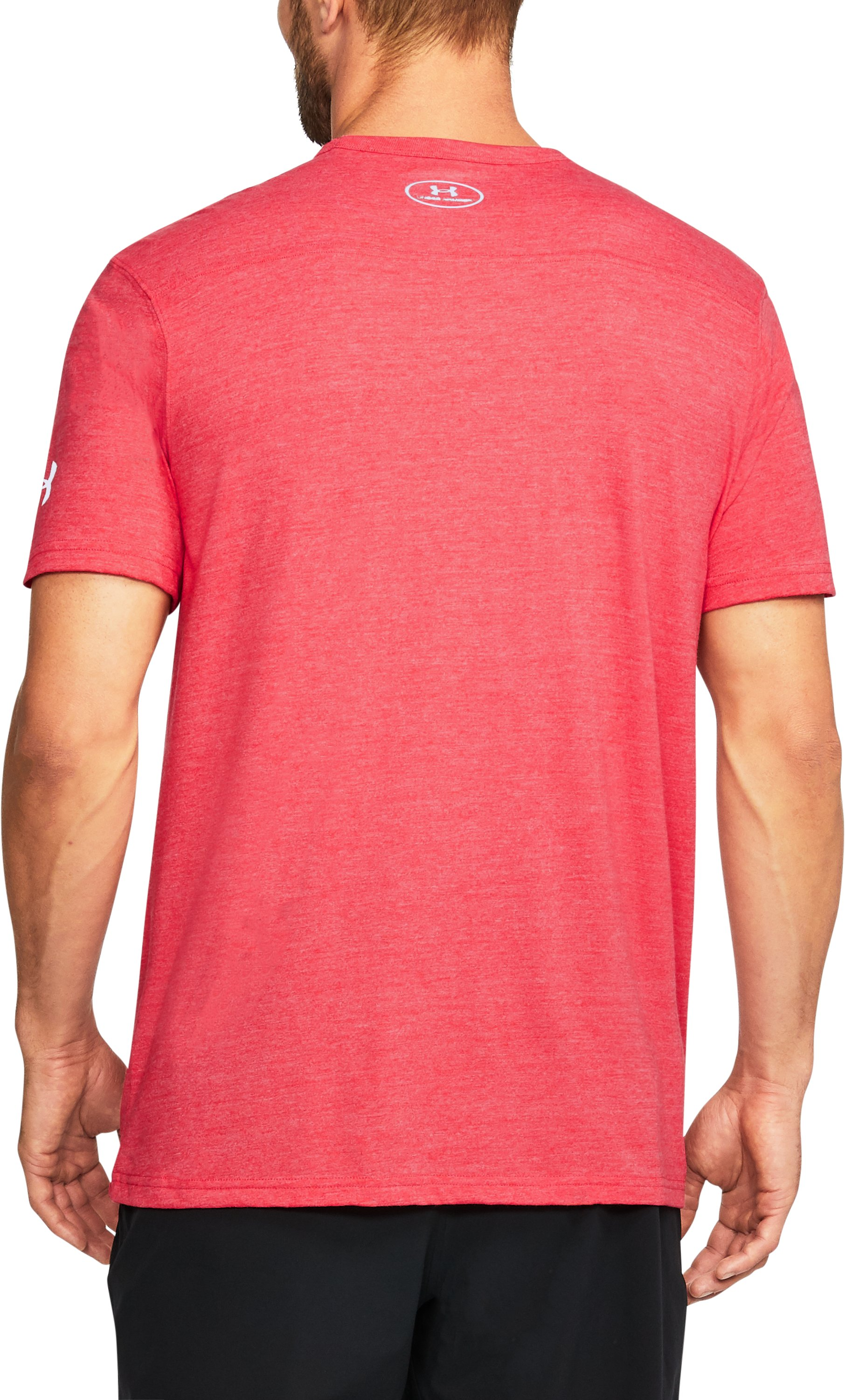 Men's Maryland UA Tri-Blend T-Shirt, Red, undefined