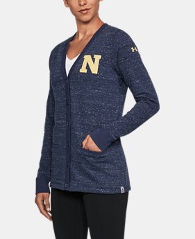 Women's Naval Academy UA Iconic Cardigan  1  Color Available $94.99