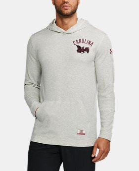 New Arrival Men's South Carolina UA Iconic Waffle Hoodie  1 Color $64.99
