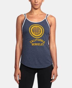 Women's Cal Bears UA Iconic Tank  1 Color $37.99
