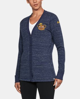 Women's Cal Bears UA Iconic Cardigan  1  Color Available $94.99