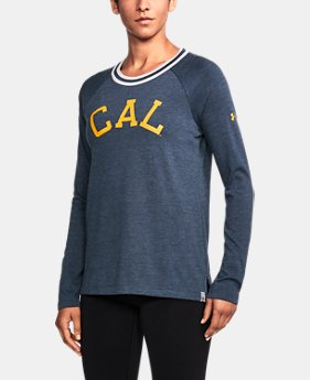 Women's Cal Bears UA Iconic Rugby Long Sleeve  1  Color Available $59.99