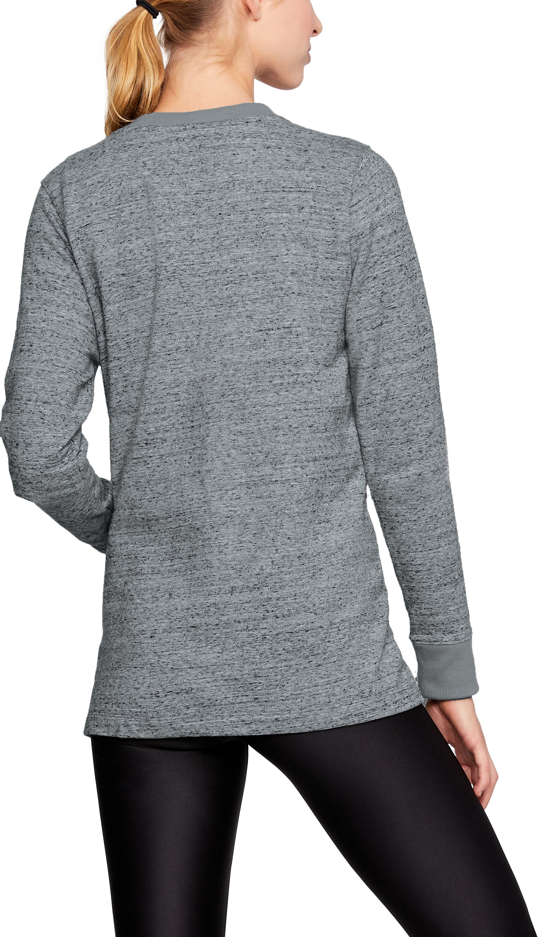 Women's UCLA UA Iconic Cardigan, Gray,