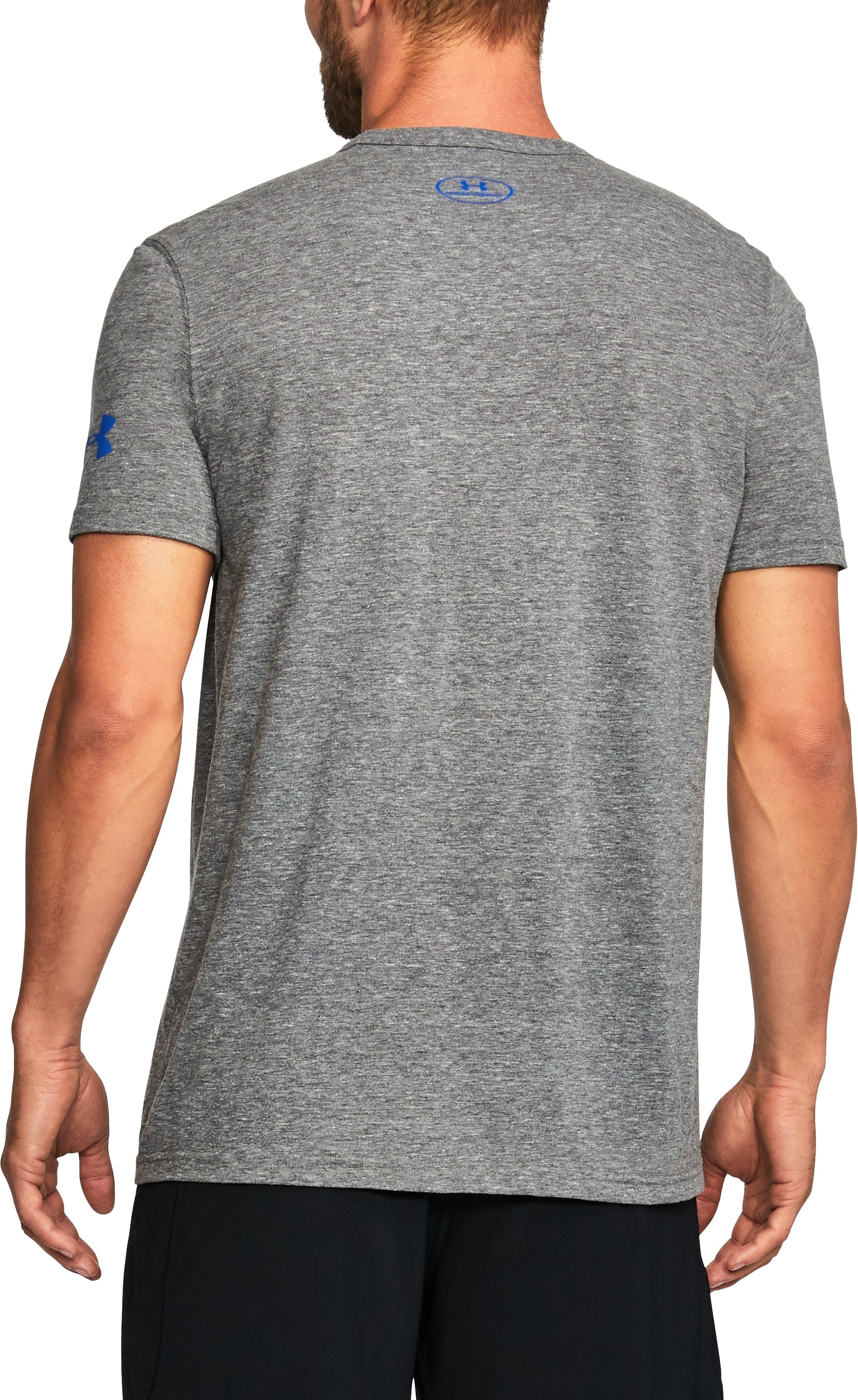 Men's UCLA UA Iconic T-Shirt, Gray
