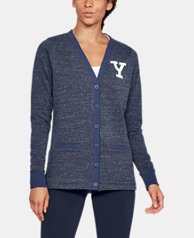 Women's Yale UA Iconic Cardigan  1 Color $94.99