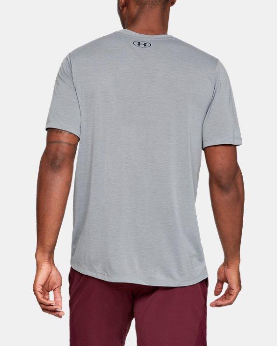 Men's UA Siro Short Sleeve, Gray, pdpMainDesktop image number 2