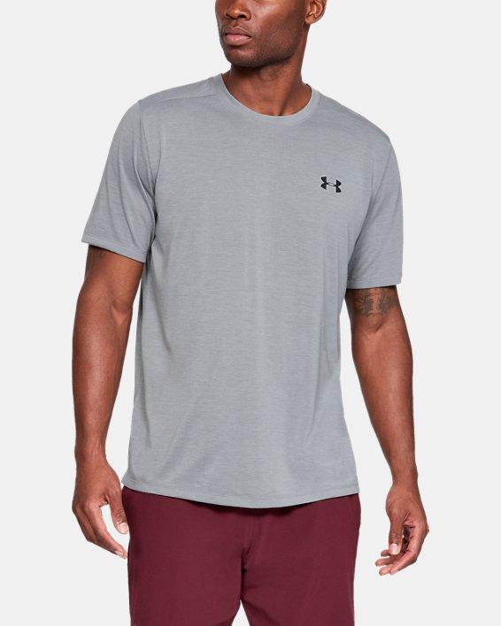 Men's UA Siro Short Sleeve, Gray, pdpMainDesktop image number 1